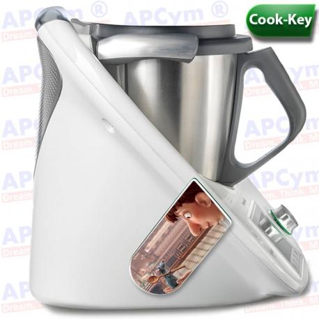 Vinilo Cook Key Thermomix Ratatouille Cocina