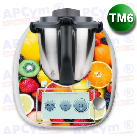 Vinilo Thermomix TM6 Fruits