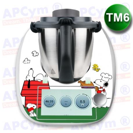 Vinilo Thermomix TM6 Perro Cocinero
