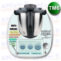 Vinilo Thermomix TM6 Receta Familiar