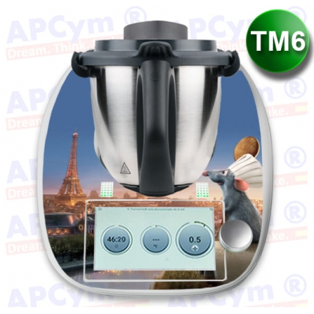 Vinilo Thermomix TM6 Raton en Paris