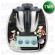 Vinilo Thermomix TM6 Muñecas Black