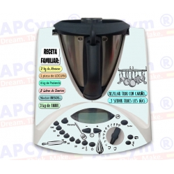 Vinilo Thermomix TM31 Receta Familiar