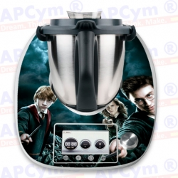 Vinilo Thermomix TM5 Mantel Harry Potter