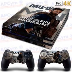 Vinilo para PS4 PRO 4K COD MW