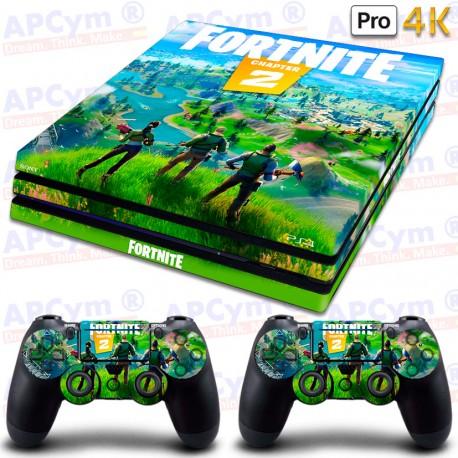 Vinilo para PS4 PRO 4K Fortnite Capitulo 2
