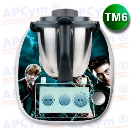 Vinilo Thermomix TM6 Harry Potter