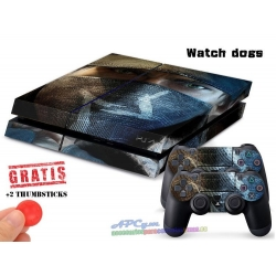 Vinilo Playstation 4 Watch Dogs