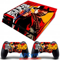 Vinilo para PS4 Fat Red Dead 2
