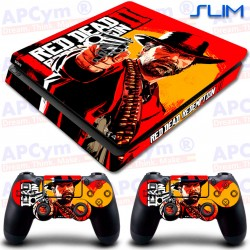 Vinilo PS4 Slim Red Dead 2