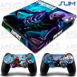 Vinilo PS4 Slim Fortnite Skull