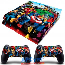 Vinilo Playstation 4 Marvel Superheroes
