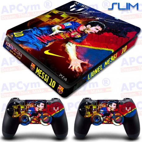Vinilo PS4 Slim Messi 10