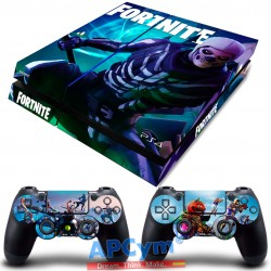 Vinilo para PS4 Fat Fortnite Skull