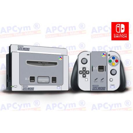 Vinilo Nintendo Switch Retro Super Nintendo