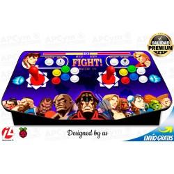 Mando Arcade Recreativa para Raspberry Pi 3 y Pi 4 / PC / PS4 / PS3