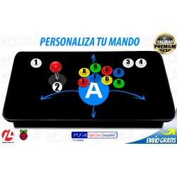 Personalizar Joystick Arcade para Raspberry Pi 3 y Pi 4 / PC / PS3 / PS4*