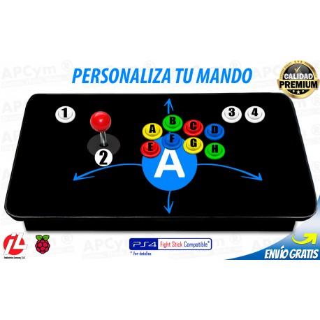 Personalizar Joystick Arcade para Raspberry Pi 3 / PC / PS3
