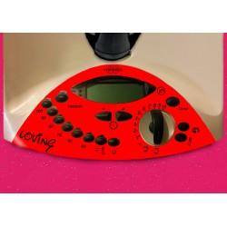 Vinilo Panel Thermomix TM31 Loving Rojo