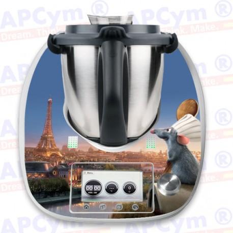 Vinilo Thermomix TM5 Ratilla Cocina Paris