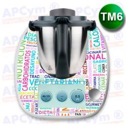 Vinilo Thermomix TM6 Frases de Dieta