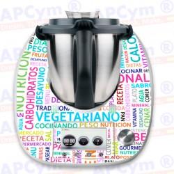 Vinilo Thermomix TM5 Frases de Dieta