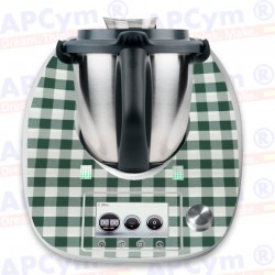 Vinilo Thermomix TM5 Mantel Verde