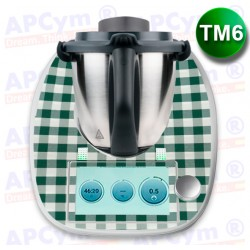 Vinilo Thermomix TM6 Mantel Verde