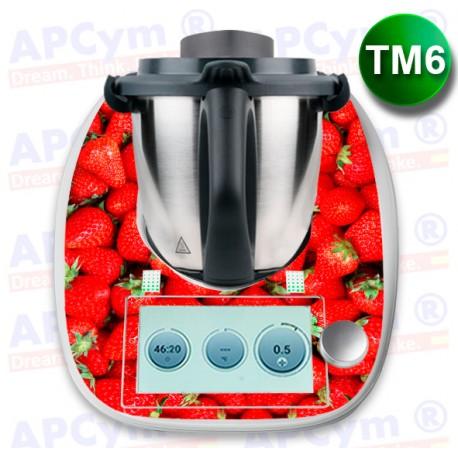 Vinilo Thermomix TM6 Fresas