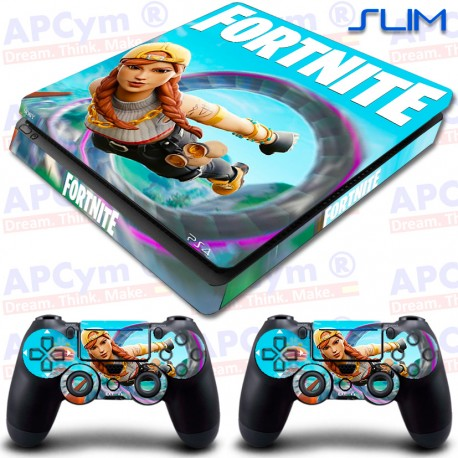 Vinilo PS4 Slim Fortnite Flying