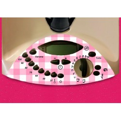 Vinilo Panel Thermomix TM31 Mantel Rosa