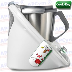 Vinilo Cook Key Thermomix TM5 Perro Cocinero