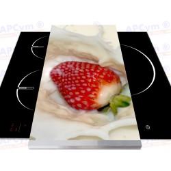 Tabla + Vinilo + Ruedas para Robots de Cocina Fresa Con Leche