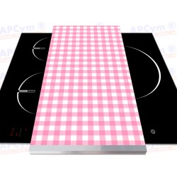 Vinilo para Tablas Thermomix Mantel Rosa