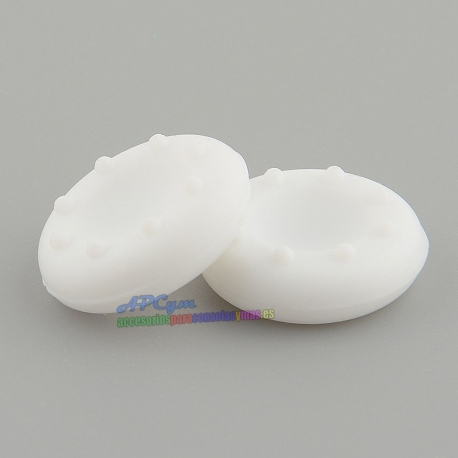 Thumbstick blanco white