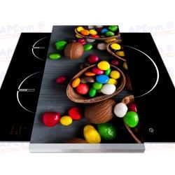 Tabla + Vinilo + Ruedas para Robots de Cocina Chocolate Egg