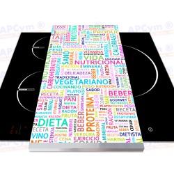 Vinilo para Tablas Thermomix Frases Dieta