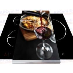 Tabla + Vinilo + Ruedas para Robots de Cocina Vino
