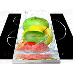 Tabla + Vinilo + Ruedas para Robots de Cocina Manzanas