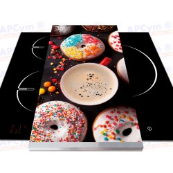 Vinilo para Tablas Thermomix Donuts Colors