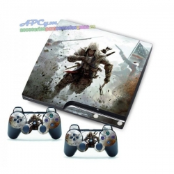 Vinilo Playstation 3 Slim Modelo Assassins Creed