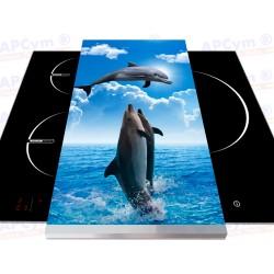 Vinilo para Tablas Thermomix Delfines