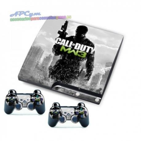 Vinilo Playstation 3 Slim Modelo Call Of Duty