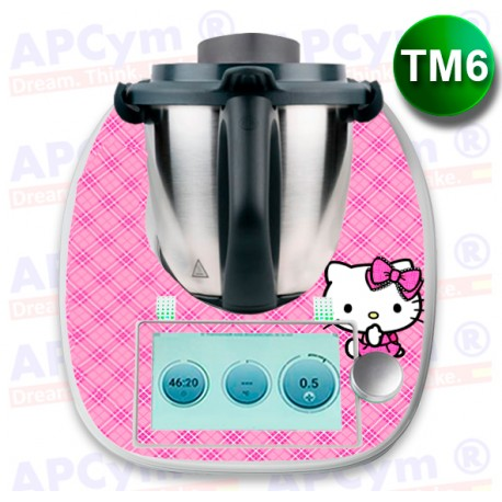 Vinilo Thermomix TM6 Pink