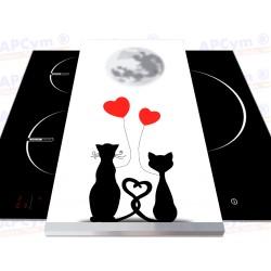 Vinilo para Tablas Thermomix Gatos Enamorados