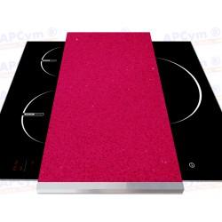 Tabla + Vinilo + Ruedas para Robots de Cocina Piedras Rosas