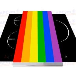 Tabla + Vinilo + Ruedas para Thermomix Orgullo