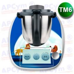 Vinilo Thermomix TM6 Rey Leon