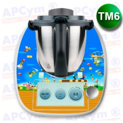 Vinilo Thermomix TM6 Mario