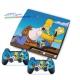 Vinilo Playstation 3 Slim Modelo Simpsons